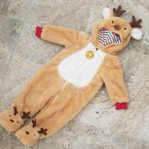 Baby Reindeer Costume Size 12 Months